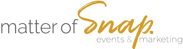 Matter of Snap Marketing & Events Logo